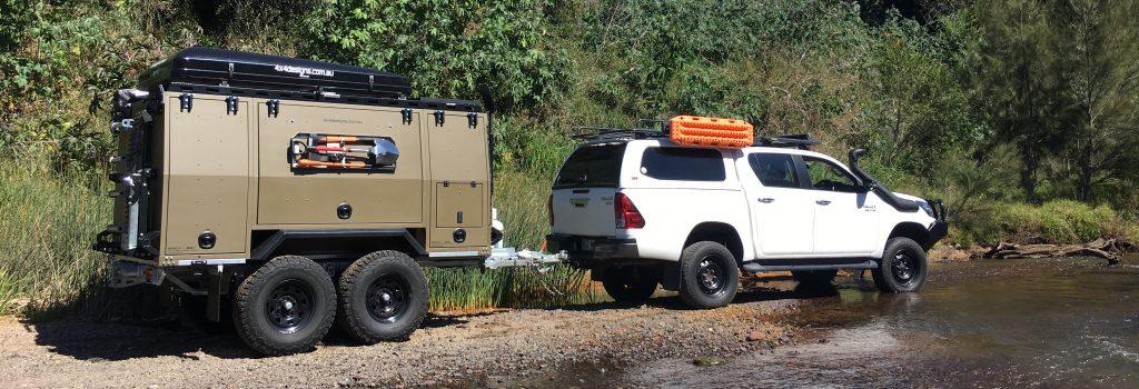 R.A.S.V. Off Road Camper Trailer