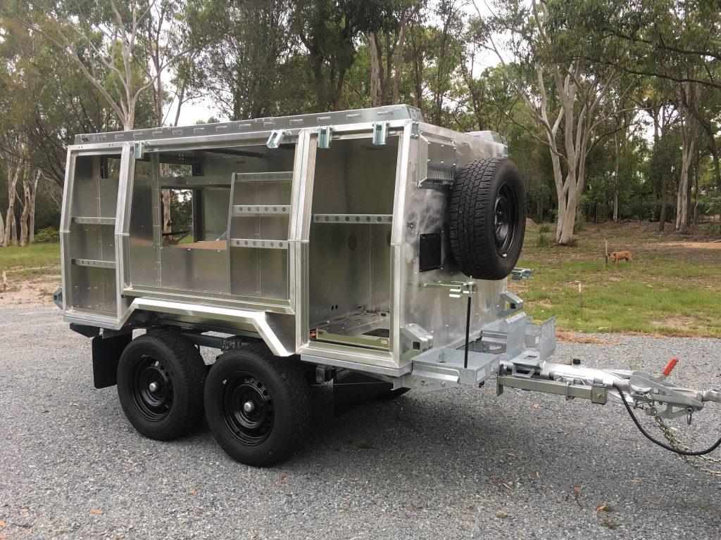 Camper Trailer Construction