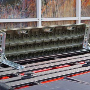 Rhino Rack Pioneer Recovery Track Side Bracket Zinc