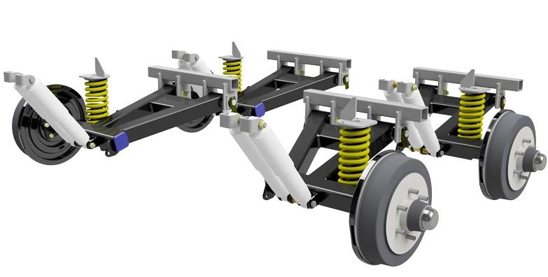 Cruiuse Master Coil Spring XT suspension.