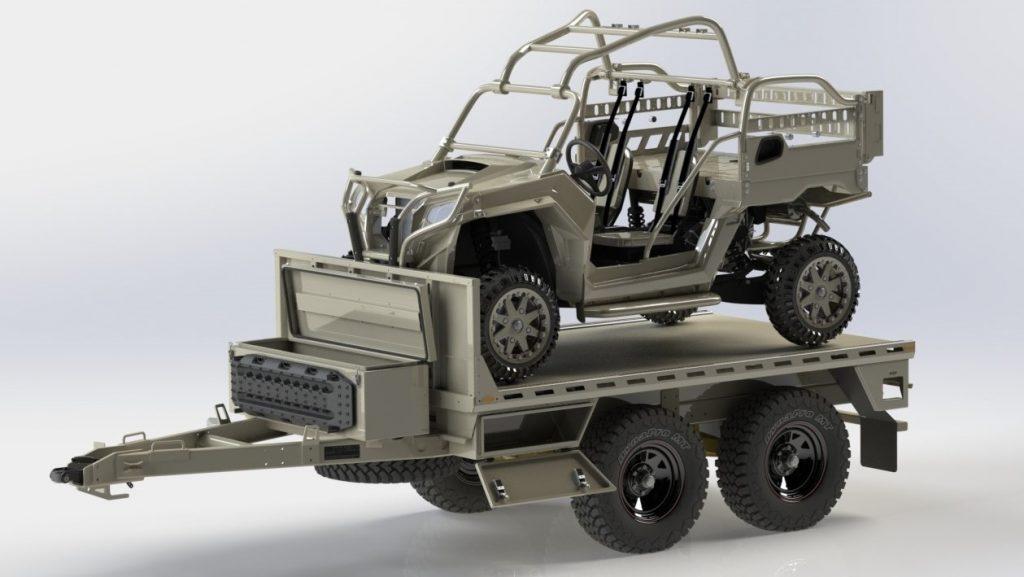 Special Forces Transport Trailer